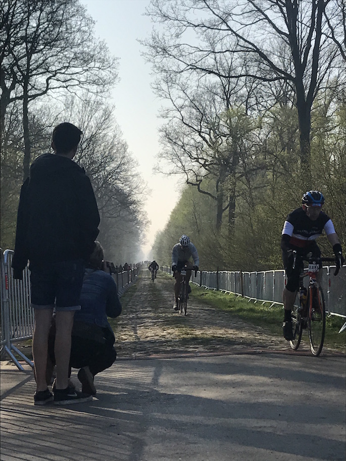 Riding Paris-Roubaix